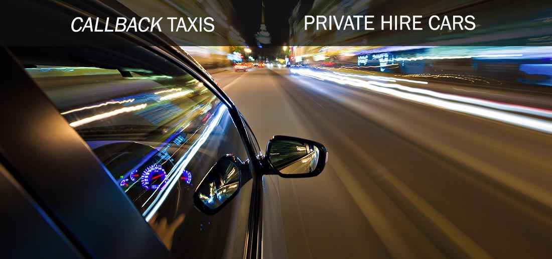 Callback Taxis - Getting you there safely